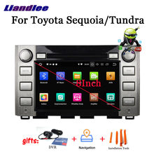 2 din Автомобильный android 90 dvd медиа плеер для toyota sequoia/tundra