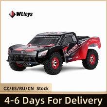 Wltoys 12423 RC voiture 1/12 4WD électrique brossé court Course RTR voiture SUV 2.4G télécommande radiocommandée véhicule RC jouets VS Wltoys 12428
