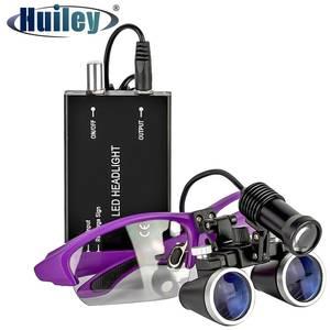 Magnifier Head-Light Binocular Medical-Operation-Loupe Surgery