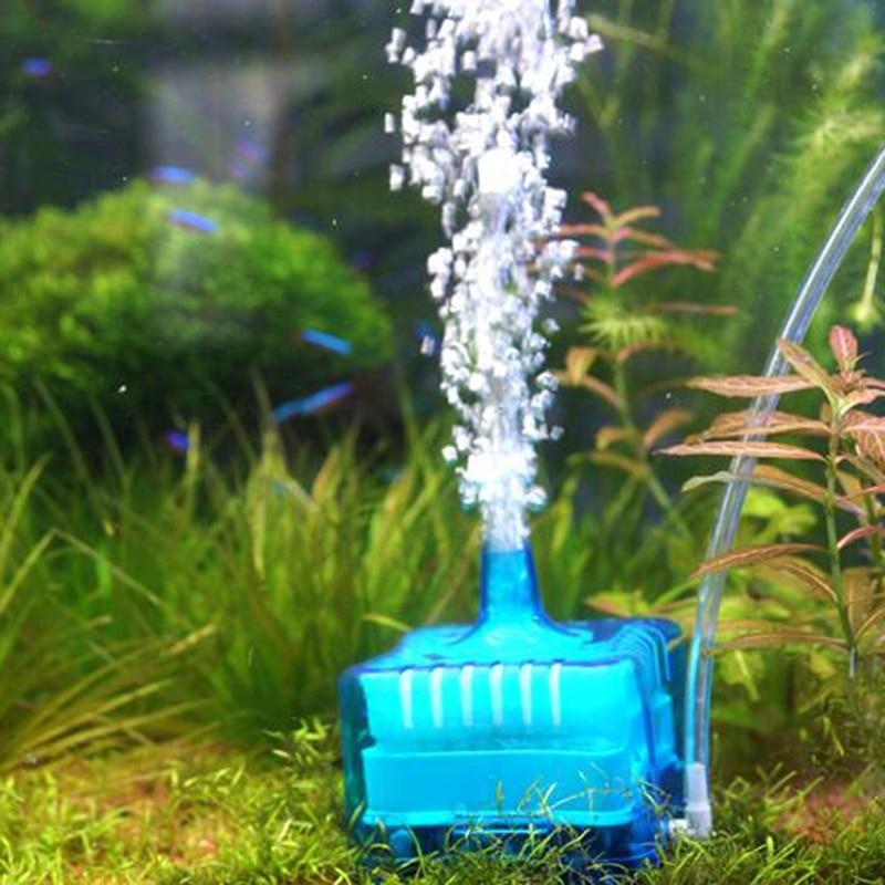 Pneumatic Mini Filter For Fish Tank Biochemical Filtering Toilet Suction Device For Aquarium Oxygen Enrichment Filtration