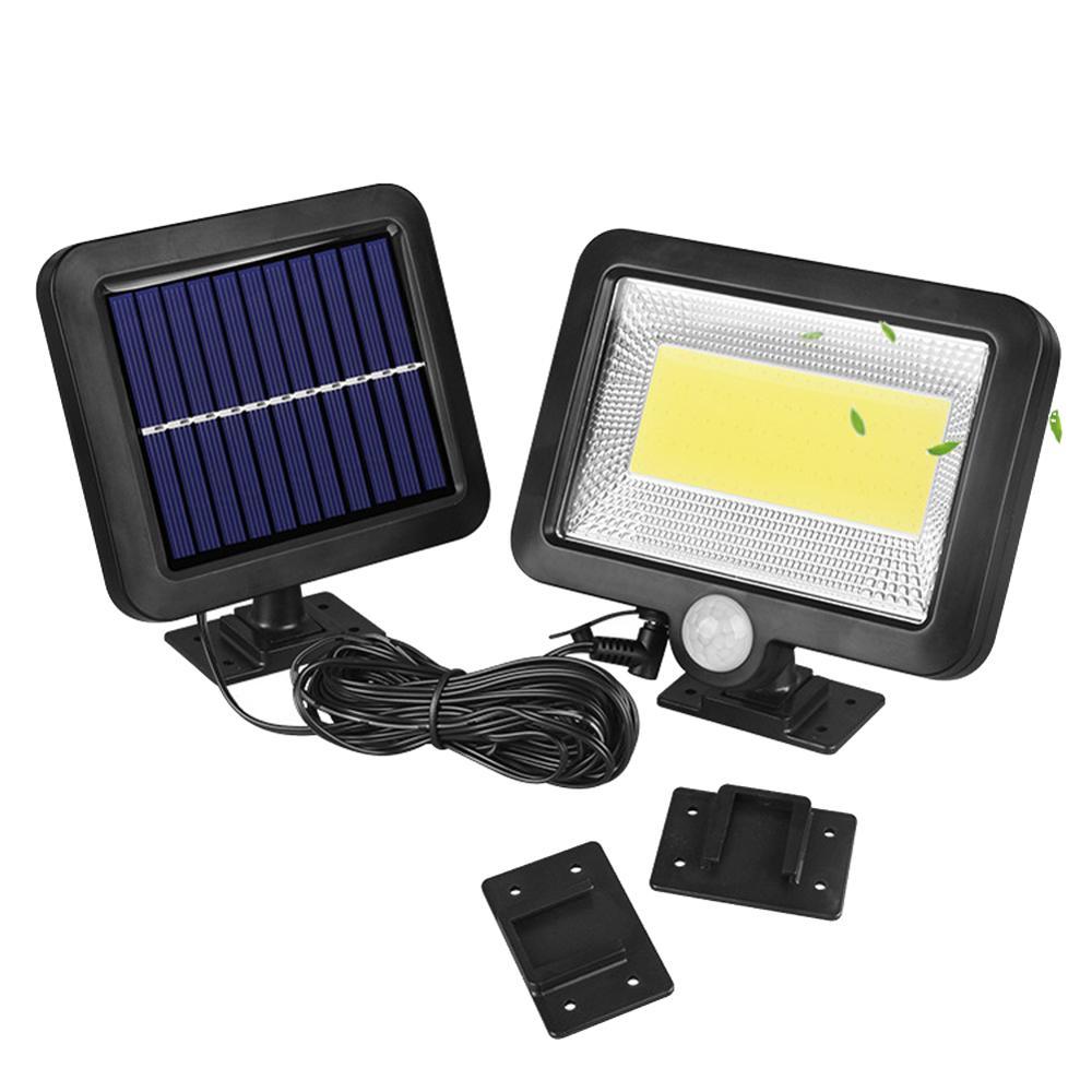30W 100 LED Solar Power Sensor Motion Light Garden Flood Lamp Security Wall Lamp 30DC11