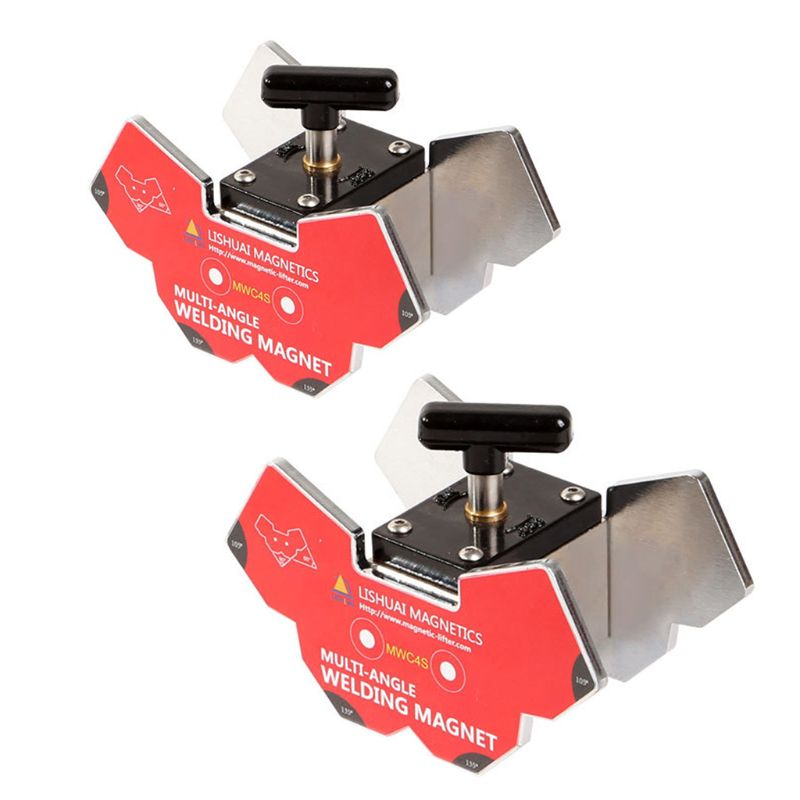 Small Switchable Hexagon Welding Magnet Strong Multi-angle Welding Holder