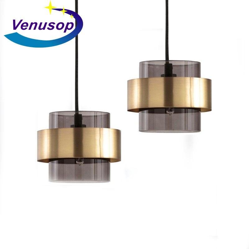 Modern Luminaria Pendente Crystal Home Decoration E27 Light Fixture   Living Room  Deco Chambre Pendant Lights Industrial Lamp