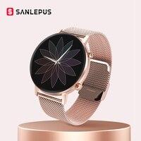 SANLEPUS-reloj inteligente deportivo para hombre y mujer, pulsera con Monitor de presión arterial para Android y Apple, novedad de 2021