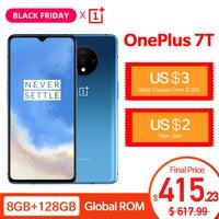 Global ROM OnePlus 7T Fulid AMOLED 6.55 Smartphone 90Hz Snapdragon 855 Plus NFC UFS 3.0 48 MP Triple Cameras