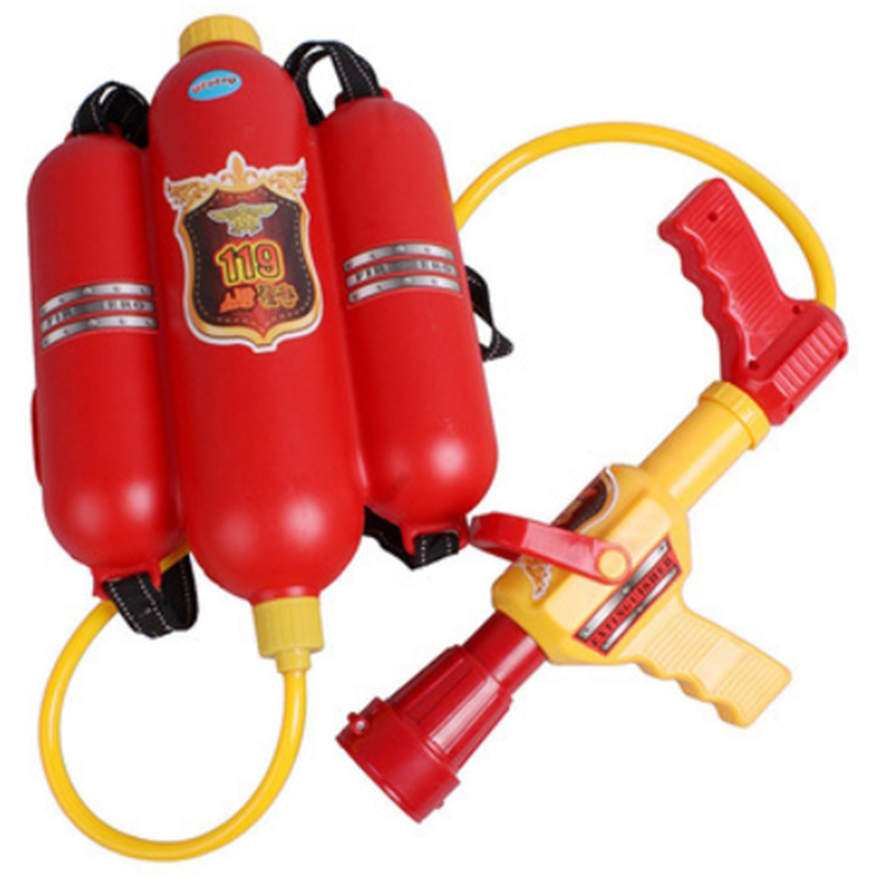 Fireman Toy Water Sprayer Backpack For Children Kids Summer Toy Party Favors