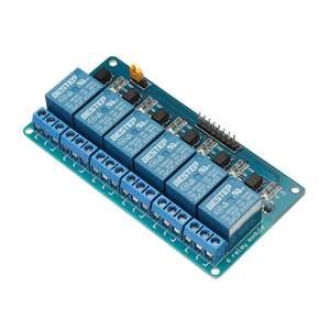 Image 4 - Módulo optoacoplador de relé de 6 canales, 3,3 V, aislamiento activo bajo paso para Arduino