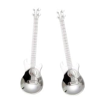 Guitar Coffee Teaspoons 2