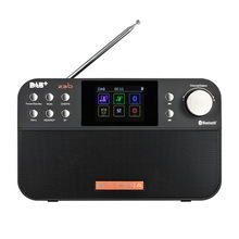 цены GTMEDIA Z3B DAB+ FM Digital Radio Portable Radio 2.4 Inch TFT-LCD Color Display Bluetooth 4.0 Stereo Radio Support Alarm Clock