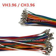 10 sztuk VH3.96 CH3.96 linia zaciskowa 22awg kolor połączenie uprząż pojedynczy zacisk zaciskowy VH CH 3.96mm