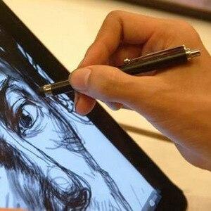 Image 3 - Hurtownie długi metalowy rysik pojemnościowy dotykowy pióro do telefonu komórkowego Samsung Galaxy dla Apple iphone dla ipad 1000 sztuk/ dużo DHL