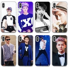 Мягкие чехлы для Samsung Galaxy Note 3 4 5 8 9 S3 S4 S5 Mini S6 S7 Edge S8 S9 S10 Plus Oh SeHun EXO-K EXO Team Korean Star