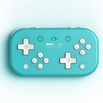 8BitDo Lite Bluetooth Gamepad for Nintendo Switch Lite Nintendo Switch Windows Yellow Turquoise Edition фото