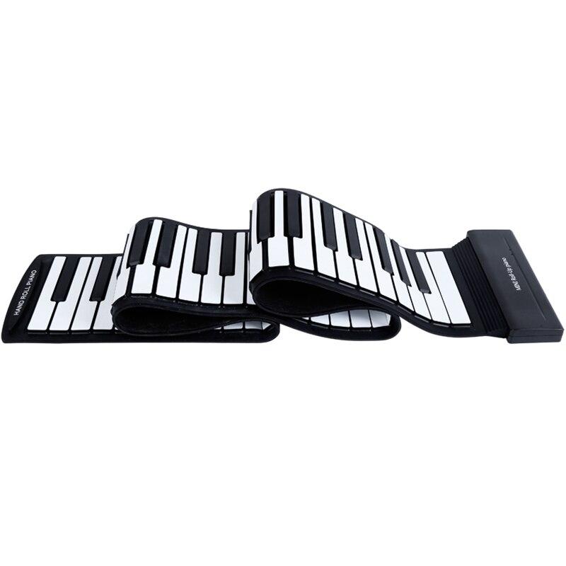 88 teclas rolam acima piano atualizado portátil