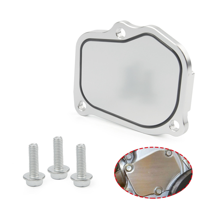 Car Timing Chain Tensioner Aluminum Alloy Cover for <font><b>Honda</b></font> <font><b>K20</b></font> K24 <font><b>Engine</b></font> image