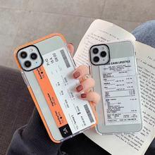 Etui z motywem paczki kurierskiej do iPhone 7/8/X/XR/11 PRO