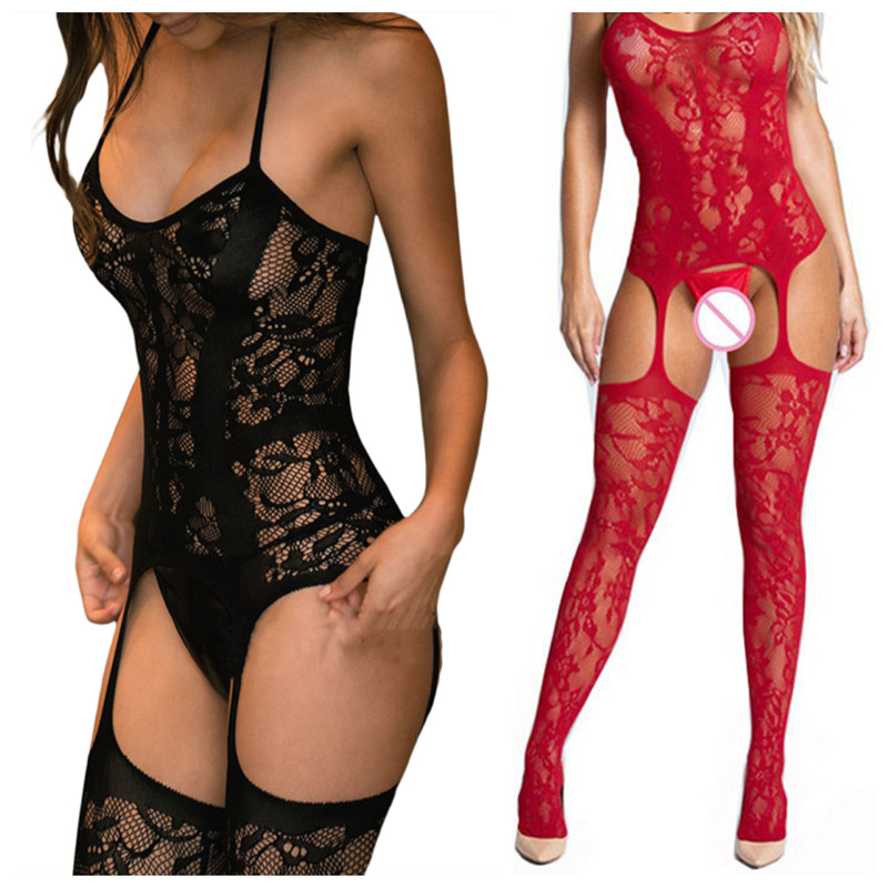 Sexy Lingerie Teddies Bodysuits Hot Erotic Lingerie Body Suit Elasticity Mesh Body Bodystocking Sexy Underwear Costumes Catsuit