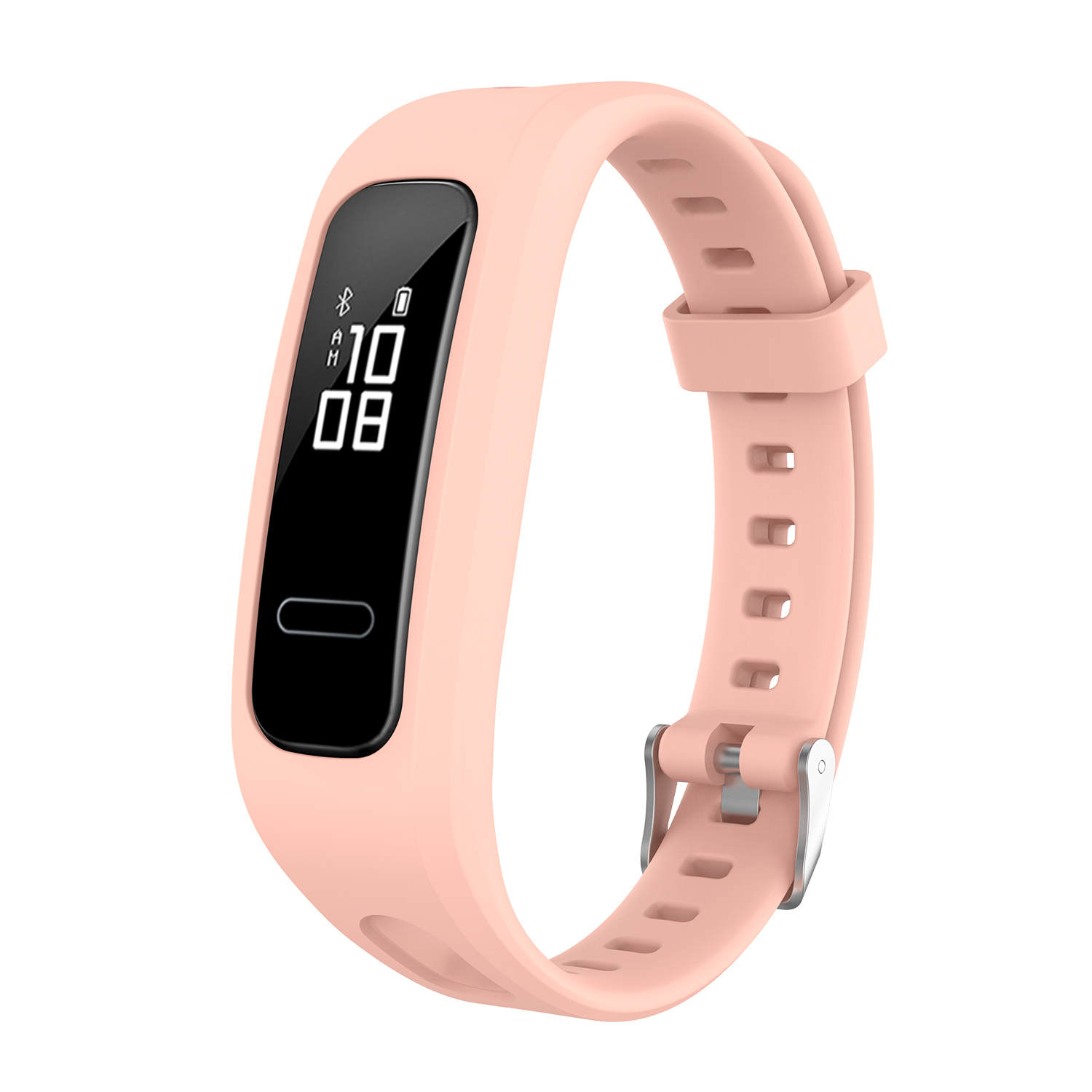 2019 Silicone Sport Strap for Huawei Band 3E Smart Watch Adjustable Replacement Bracelet for Huawei Honor 4 Running Accessories in Smart Accessories from Consumer Electronics