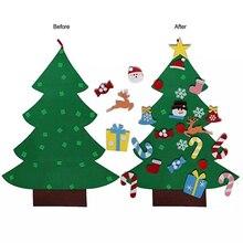 Войлочная Рождественская елка, Рождественская елка, подвеска для детей, сделай сам,, на заказ(95X70 см)# SW