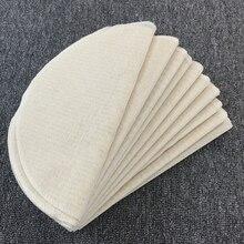 Bread-Mat Cloth Steam-Pot Cheese-Dia Cotton Round White for 30cm 50cm-Size S-L 5pcs