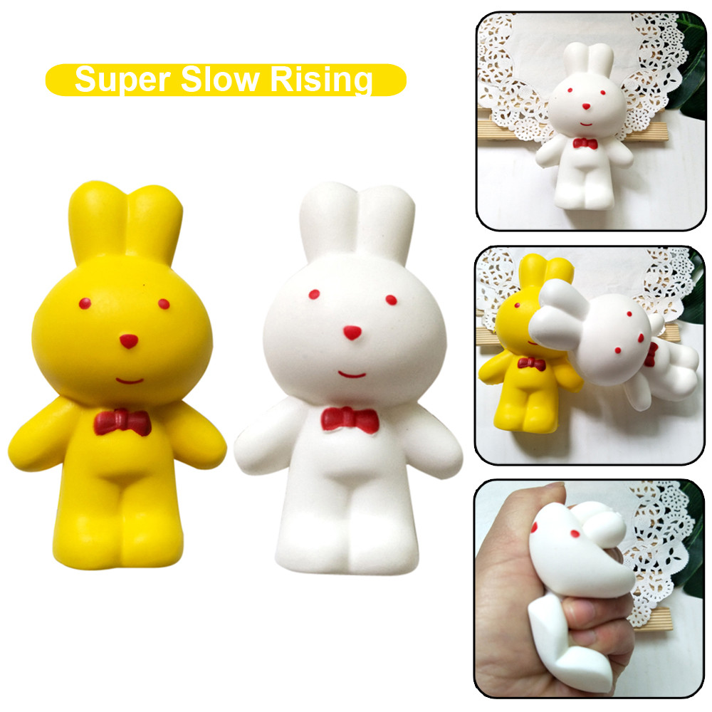 Decoration Decoration Simulation Toy 2020 New Adorable Rabbit Slow Rising Cream Scented Stress Relief Toys L0110