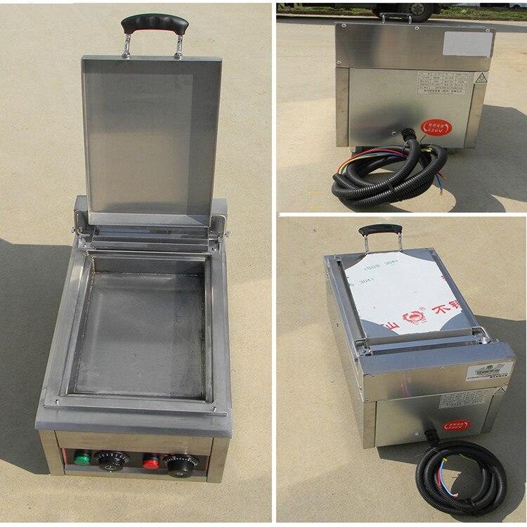 Única frigideira pan 110v 220 tensão elétrica