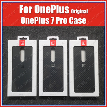 Final Stock OnePlus 7 Pro Case Sandstone Nylon Carbon Bumper Official OnePlus 7Pro Original 3D Tempered Glass Screen Protector