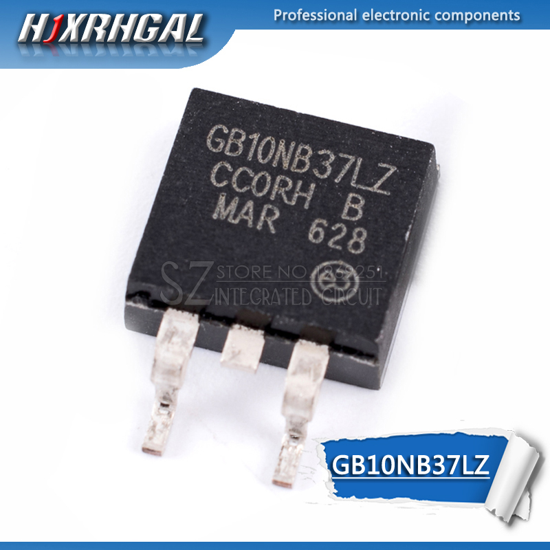 1pcs GB10NB37LZ TO-263 STGB10NB37LZ TO263