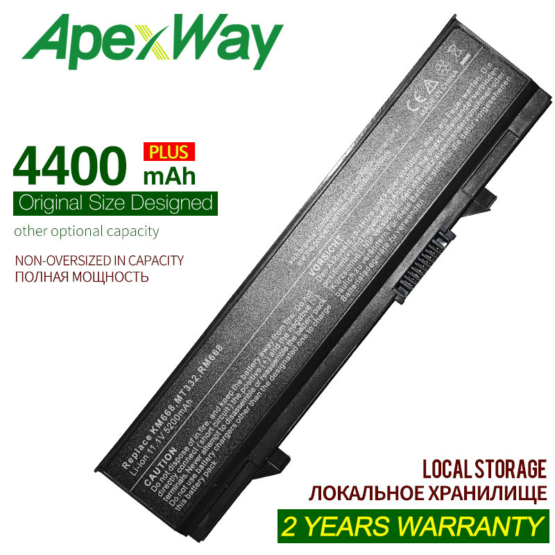 4400MAH Battery For Dell Latitude E5400 E5410 E5500 E5510 0RM668 451-10617 KM668 KM742 312-0762 312-0769 312-0902 451-10616