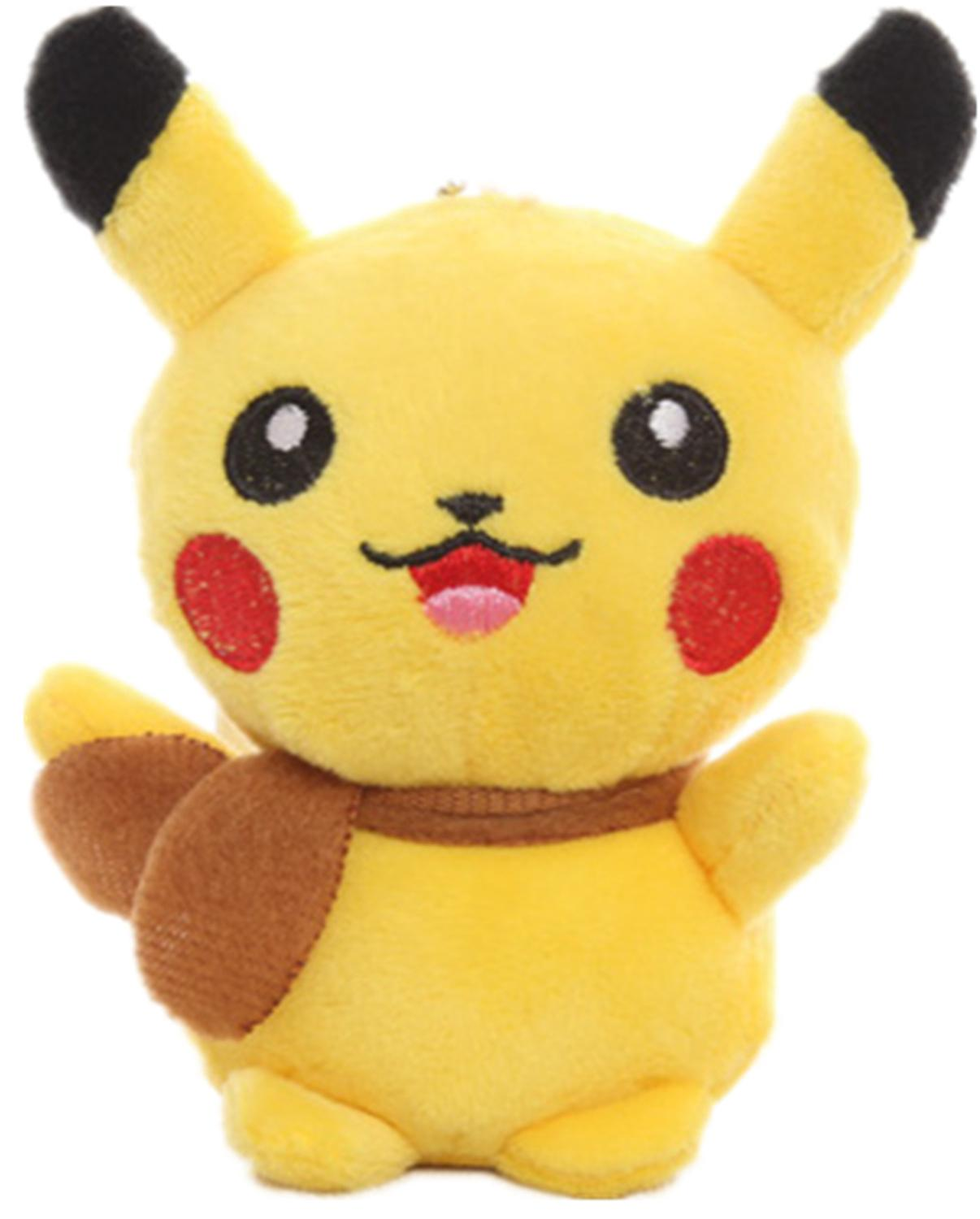 HOT NEW Quality 13CM Height 5.1' Stuffed Toy Cute Pikachu Plush Toy Doll Cat Stuffed Plush Doll , Stuffed Animal plush toy doll