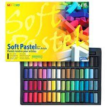 Пастель сухая Mungyo мягкая квадратная 1/2 длины 64 цвета в картонной коробке