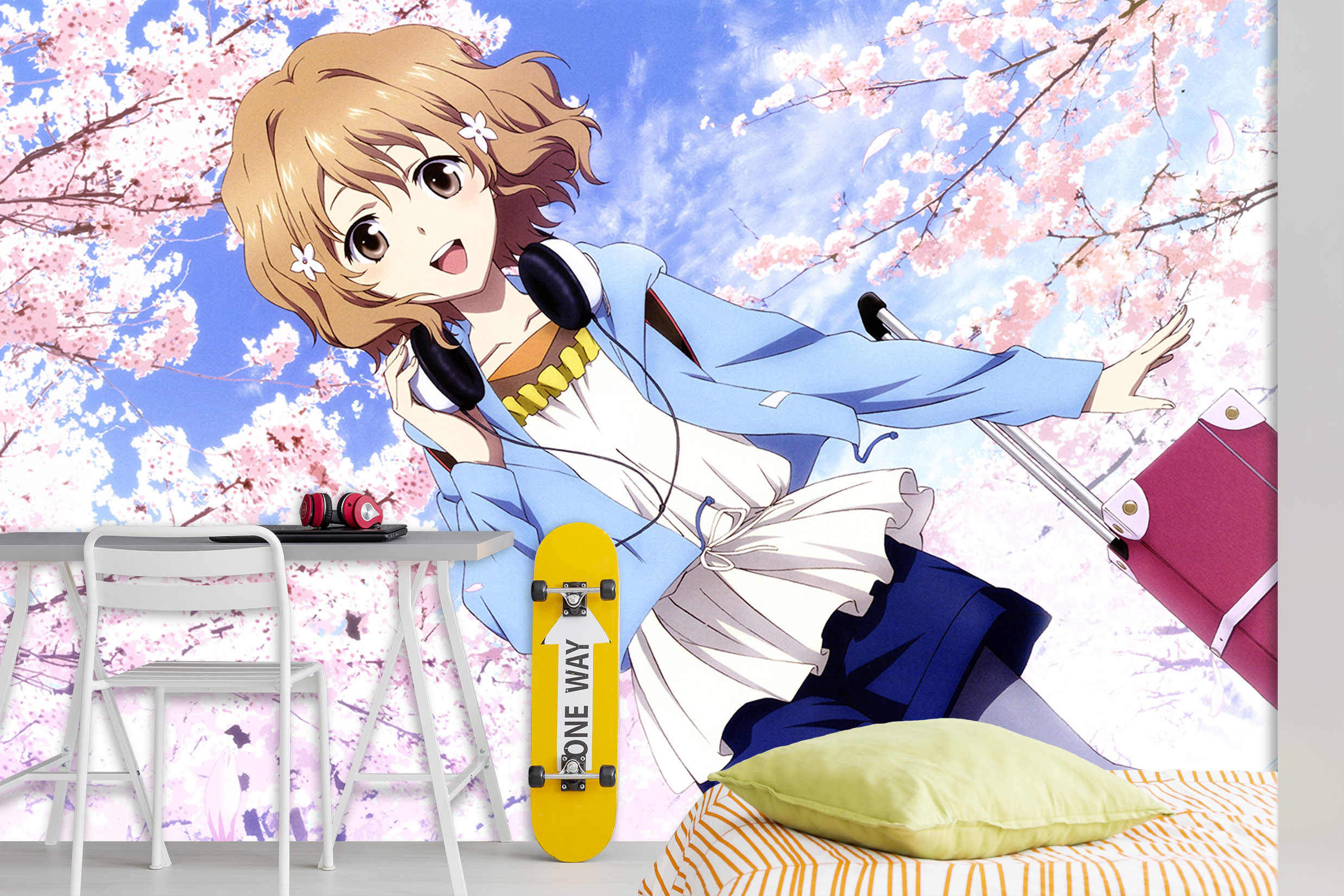 自己粘着 3d 漫画 657433 日本アニメ壁紙壁画壁印刷デカール壁の壁画