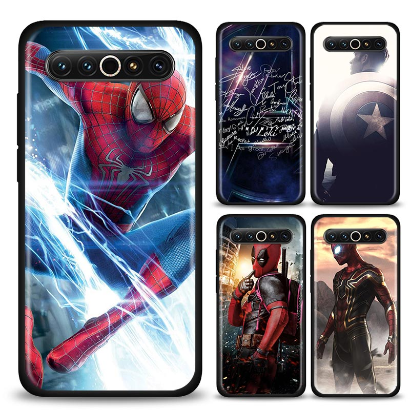 MARVEL The Avengers Black Silicone Soft Phone Case for <font><b>Meizu</b></font> 16s 17 <font><b>Pro</b></font> <font><b>16</b></font> 16T 16th 16Xs M6 Case Shell image
