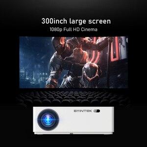 Image 3 - BYINTEK K20 Full HD 1080P 3D akıllı Android Wifi 300 inç ev sineması oyunu LED Video projektör projektör Beamer 4K sinema