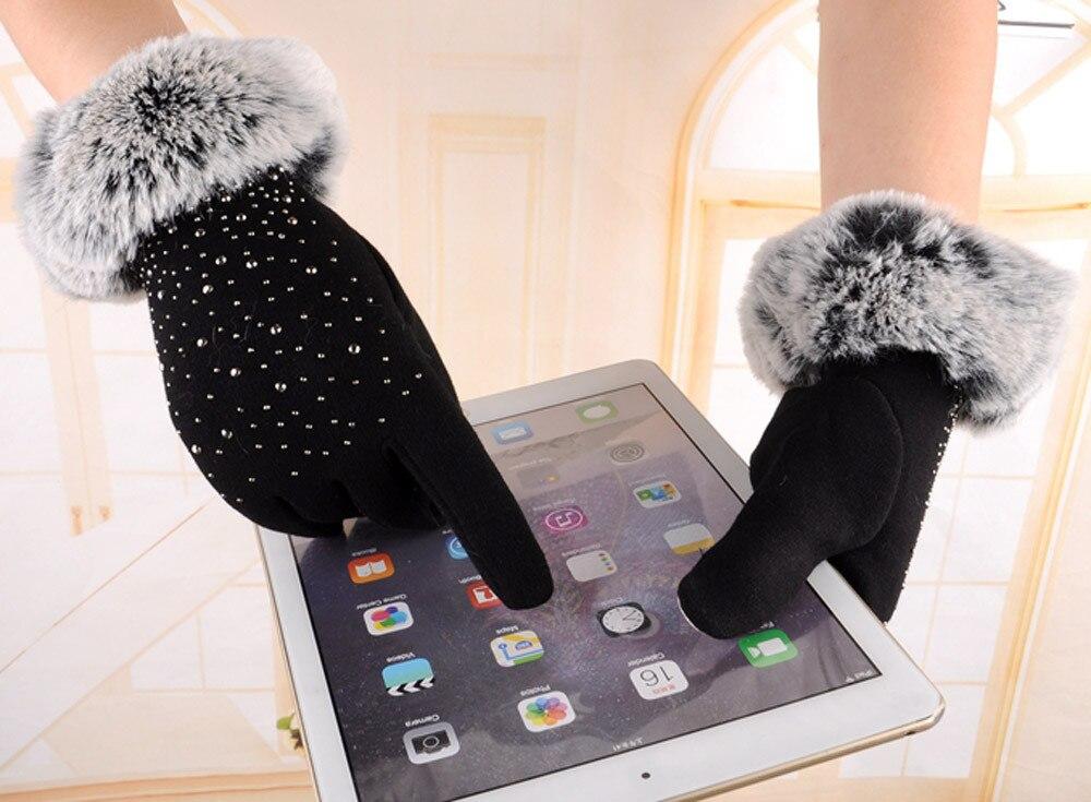 2020 Новые перчатки для сенсорного экрана женские модные зимние уличные спортивные теплые перчатки