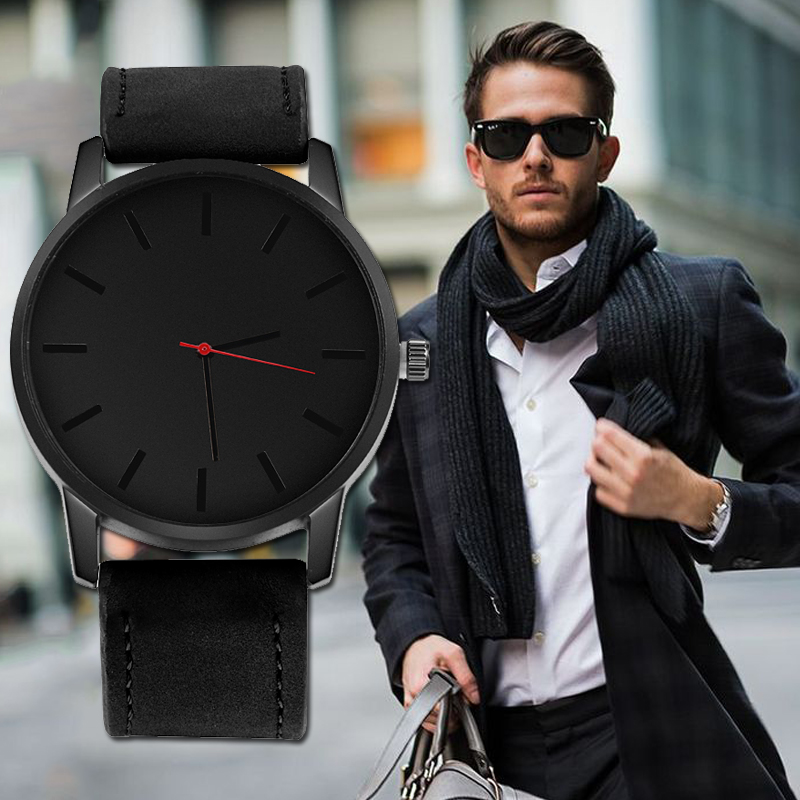 relojes hombre <font><b>2019</b></font> <font><b>Ultra</b></font>-<font><b>thin</b></font> <font><b>Men</b></font> <font><b>Watch</b></font> Top Brand <font><b>Luxury</b></font> <font><b>Men's</b></font> <font><b>Watch</b></font> Fashion <font><b>Watch</b></font> <font><b>Mens</b></font> Leather Casual relogio masculino image