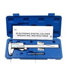 Цифровой штангенциркуль 0 150 мм 001 из нержавеющей стали электронные