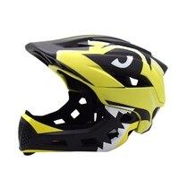 Kinder Balance Auto Helm Radfahren Sport Schutz Getriebe Rutsche Auto Voller-Gesicht Helm Einteiliges Abnehmbare Helm