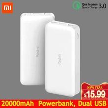 Redmi Power Bank 20000mAh Quick Charge 10000mAh Powerbank Du