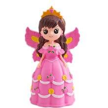Милые крылья принцессы копилка для девочки большой размер милая