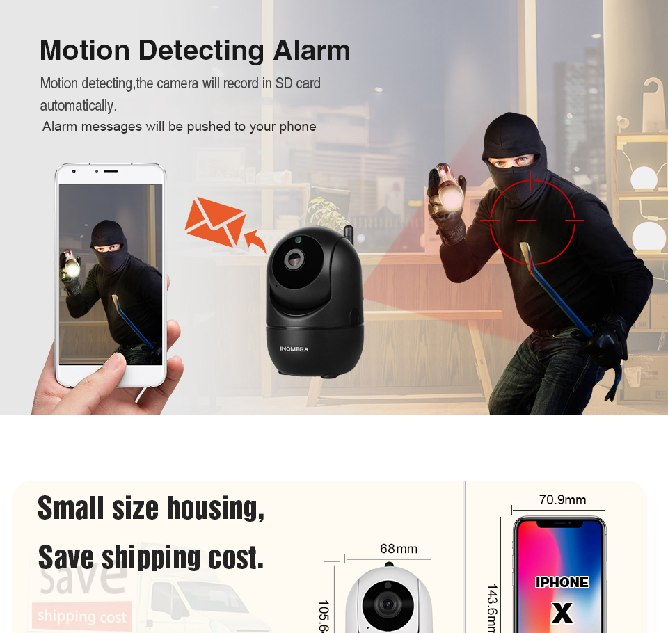 H4e508ce69b114670bde28f05b7332795R INQMEGA HD 1080P Cloud Wireless IP Camera Intelligent Auto Tracking Of Human Home Security Surveillance CCTV Network Wifi Camera