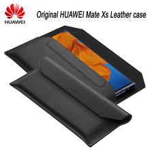 Original HUAWEI Mate Xs Case Leather Back Cover Case Protective Shell for Mate Xs Envelope leather cover