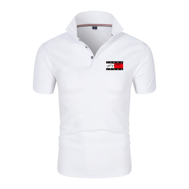 Men's Polo Shirt Fashion Casual Sports T-shirt Track and Field Sportswear Modern Short Sleeve New Trend 2021 2