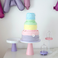 Wedding Table Cake Stands Wooden Macarons Donuts Dessert Fruit Plate Cupcake Stand
