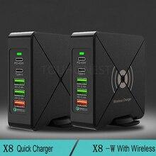 สำหรับ iPhone Huawei MacBook Samsung แท็บเล็ต FAST CHARGE 75W Wireless Quick Charge 3.0 USB Type C 45W PD อะแดปเตอร์ชาร์จโทรศัพท์