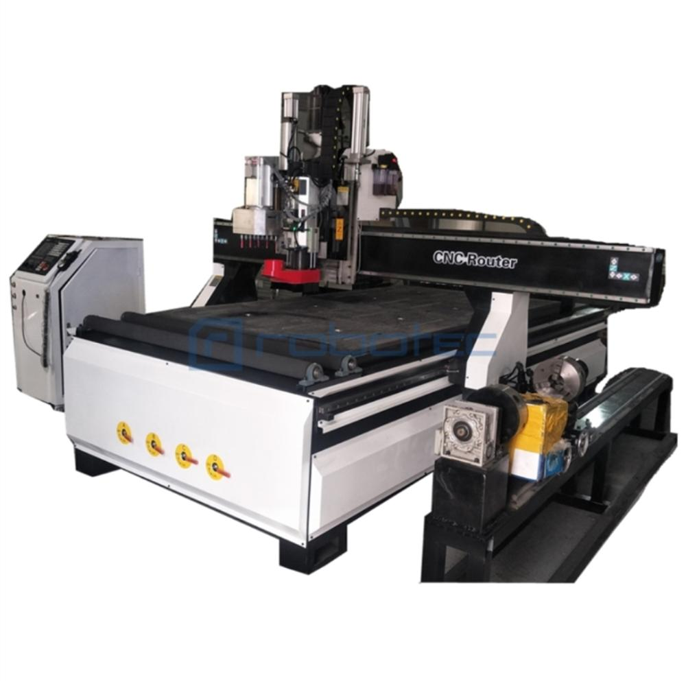 Chinese Factory 1325 MDF Door Production Line CNC Milling Machine For Artwork/ Auto Tool Change Wood Cnc Router