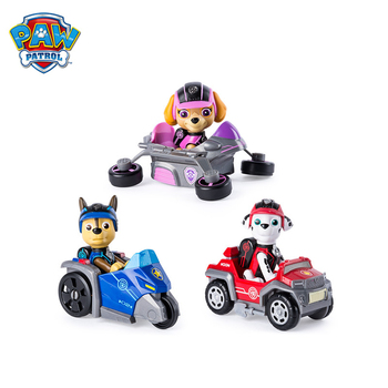 Original Paw Patrol Mission Rescue Model Toy Car Puppy patrol car Anime Action Figure Toy Children Birthday Xmas Gift new kids toys canine patrol dog dolls model anime doll action figures car patrol puppy toy children gifts sets free shipping