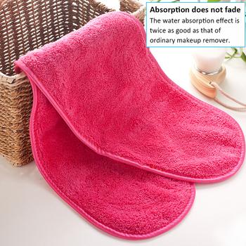 Wielokrotnego użytku ręcznik do twarzy z mikrofibry ręcznik do twarzy naturalny antybakteryjny zmywacz do makijażu oczyszczanie mycie twarzy ręcznik z mikrofibry tanie i dobre opinie Makeup Remover Microfiber face towel Microfiber towel Terry towels face towel make up Rectangle Można prać w pralce CN (pochodzenie)