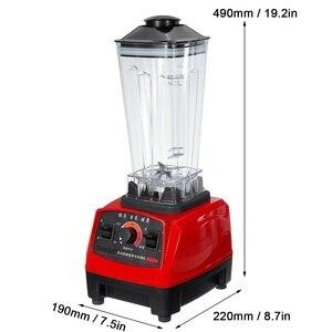 2L 800W Heavy Duty Commercial Grade Blender Mixer Juicer High Power Food Processor Ice Smoothie Bar Fruit Blender