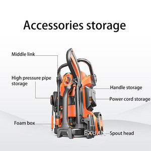 Image 2 - מכונית לחץ גבוהה/נחושת מנוע עצמי תחול מכונת כביסה/רכב מכונת כביסה משאבת/בית עצמי שירות רכב רכב מכונת כביסה